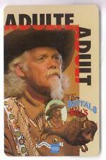 DISNEY PARIS PASS CARTE / CARD .. PASSEPORT BUFFALO BILL ADULTE S019606 BE 0996