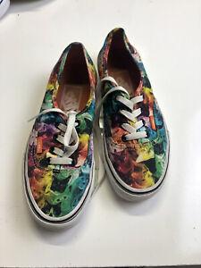 Vans ASPCA Cats Cat Print Lace Up Sneakers Mens 5.5 Womens 7.0Unisex Shoes
