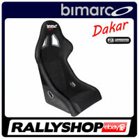 BIMARCO Seat DAKAR FIA Racing Black WITH HOMOLOGATION - CHEAP AND FAST DELIVERY