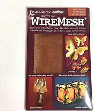 """Copper Paragona Wire Form 16""""X 20""""   80 Mesh"""