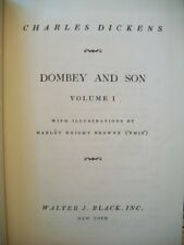 Dombey & Son  Vol I (Charles Dickens, N.D. Hardcover) Classic Editions