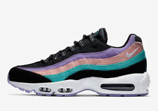 online store 59319 e40ab NIKE AIR MAX 95 HAVE A NICE DAY BLACK HYPER JADE GREEN PURPLE WHITE SZ 8
