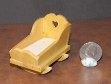 Dollhouse Miniature Baby Nursery Cradle 1:12 one inch scale  D56 Dollys Gallery
