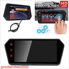 DC12V 7'' 140° HD LCD Color Bluetooth Car Truck Reversing Monitor Display MP5 FM
