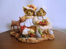 Cherished Teddies Adria & Eden LE Signing Event 2012  NIB SIGNED Plus Pillow
