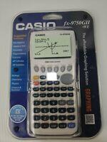 Casio fx-9750GII Graphing Calculator, White *New  Sealed*