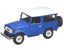 1/24 MOTORMAX Toyota FJ40 Hard Top Diecast Model Car Blue 79323BL