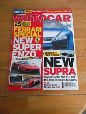 AUTOCAR MAGAZINE  25/1/2005 FERRARI SPECIAL ISSUE SUPER ENZO TOYOTA SUPRA LEXUS