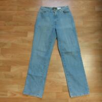 Eddie Bauer Men's Jeans 30 x 31 Cotton Blend Stretch Straight Leg Light Wash EUC