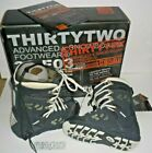 32 ThirtyTwo Advanced x Snowboard Footwear Boots Lashed Navy White Size 7, A1