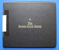 Russia (RD09) 1997 Russia Duck Stamp Artist Signed Miniature Sheet Folio