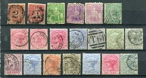 TRINIDAD + BARBADOS : Small collection classics