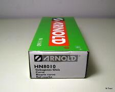 Arnold N HN8010 - Confezione con 10 binari curvi da 15°, raggio R3=400 mm.