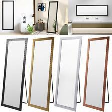 Full Length Mirror Bedroom Floor Standing Hanging Wall Mirror Makeup Large