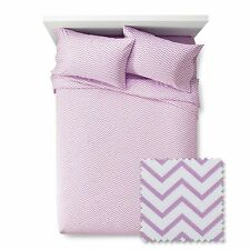 Pillowfort Chevron Sheet Set Violet Full Size *Free Shipping*