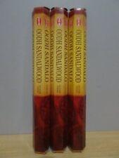 Oodh Sandalwood Incense  3 Packs x 20 Sticks  HEM Hex   Free Post AU