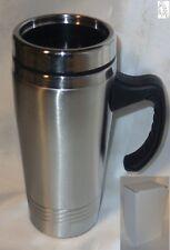 Thermobecher Edelstahl Iso Thermotasse Coffee Kaffetasse Teetasse Mug Tasse Slbr
