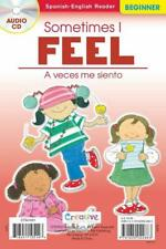 NEW Sometimes I Feel / A Veces Me Siento - Spanish-English Beginner Reader w/ CD