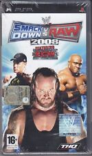 PSP PlayStation Portable **SMACK DOWN vs RAW 2008** sigillato nuovo italiano