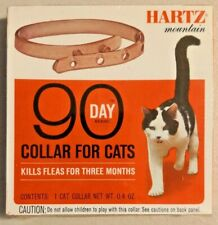 Vintage Hartz Flea & Tick Collar for Cats and Kittens, Fresh Scent NOS -- 2810