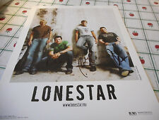 Autographed Lonestar Color 2005 Publicity Photo