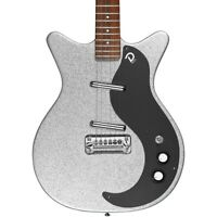 DANELECTRO '59M NOS+ 60TH ANNIVERSARY EDITION SILVER METALFLAKE ELECTRIC GUITAR