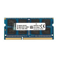 For Kingston 8GB 2RX8 PC3-12800S DDR3 1600MHz Notebook SO-DIMM RAM Memory Laptop