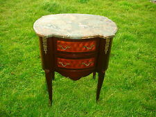 FRENCH LOUIS EMPIRE MARQUETRY OMOLU CHEST WITH MARBLE TOP @ AUNTIES PARLOUR WOW!