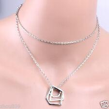 New Fashion Women Gold filled Chain Choker Statement Necklace Jewelry Charm e798