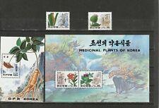 A90-Corea-SGN3429-MSN3431 Estampillada sin montar 1994 plantas medicinales