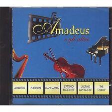 Amadeus e gli altri - MOZART BEETHOVEN RAVEL ORFF BACH CD OST 1995 COME NUOVO
