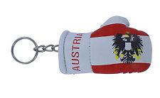 Keychain Mini boxing gloves key chain ring flag key ring cute austria austrian
