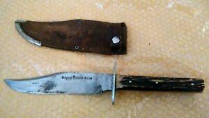 Othello Solingen Germany Original Bowie Knife Stag Handle Vintage!