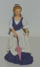 "Resin Figure, ""Victoria"", With Parasol, 1:12 Dollhouse Scale"