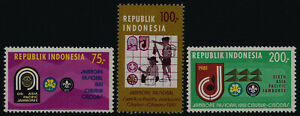 Indonesia 1112-4 MNH Asian Pacific Scout Jamboree