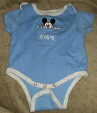Disney blue Mickey Mouse one piece 0 to 3 months.