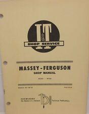 Massey-Ferguson, Shop Manual, Model MF285
