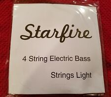2 sets of Starfire by Alice 4 String Light Electric Bass Strings buy more & save