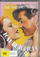 LOVE ME TONIGHT - MAURICE CHEVALIER -  NEW & SEALED  REGION4 DVD FREE LOCAL POST