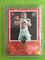 BAKER MAYFIELD ROOKIE CARD ELITE PRIZM REFRACTOR RC SP 2018 Panini Donruss ESR-3