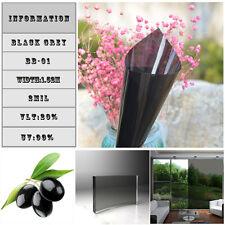 Decorative Building Window Tint Film Glass Transparent Self Adhesive Vinyl UK