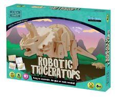 Robotic Triceratops-Construire et jouer en BOIS DINOSAURE
