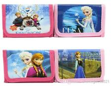 12 randam Disney Frozen Film princesse rose enfant fille/Garçons Portefeuille, Sac à main