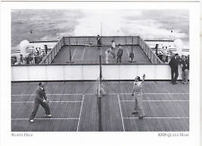 """""""The Sports Deck""""   -RMS Queen Mary- ...CLASSIC- {Postcard}  (A81-2)"""