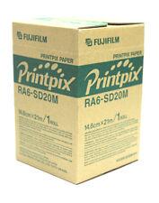 1 ROLL OF FUJIFILM PRINTPIX PAPER RA6-SD20M 14.8 cm x 21 m
