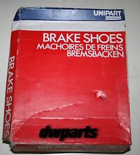 UNIPART 4 BRAKE SHOES / GBS 1101
