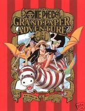 ONE PIECE GRAND PAPER ADVENTURE 3D Art Book JAPAN