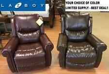 New La-Z-Boy 10-746 Renewed Leather Duncan Recliner Rocker Lazy Boy FREE SHIP