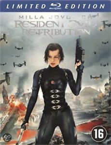 Resident Evil - Retribution [ Steelbook ] [Region 2] - D (US IMPORT) Blu-Ray NEW