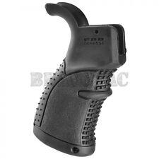 Fab Defense AGR-43S Rear Grip Rubberized Enhanced Ergonomic 5.56/223/308 - Black